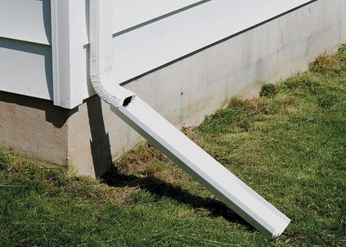 Amerimax White Dripper Flipper Downspout Extension At Menards 174