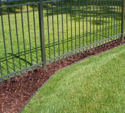 Amerimax Channel Guard Downspout Extension And Fence Line