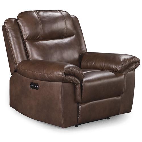 Awe Inspiring Mason Brown Dual Power Recliner At Menards Gamerscity Chair Design For Home Gamerscityorg