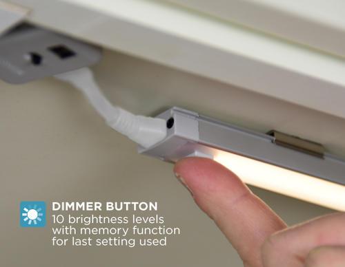 Black Decker 24 Cool White Led Under Cabinet Lighting Kit