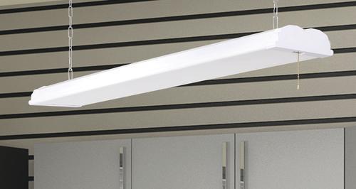Smart Electrician 48 x 6 White 3300 Lumen LED Shop Light at