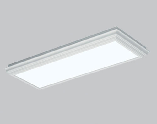 American Fluorescent 4-Light T8 Fluorescent Crown Molding Flush ...