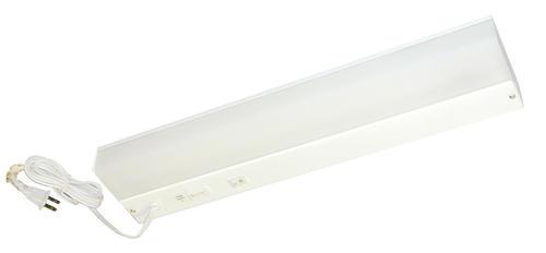 American Fluorescent 24 White 1 Light 18 Watt T8 Plug In