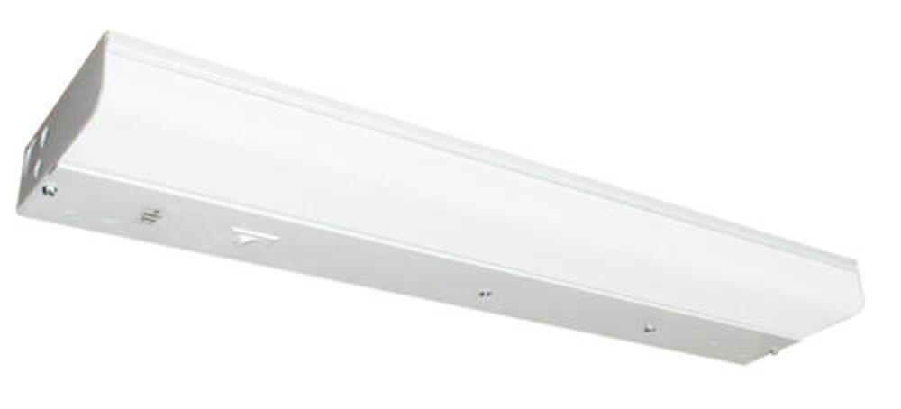 """18/"""" FLUORESCENT Plug-In UNDER-CABINET WHITE Light Fixture w// OUTLET NEW UC-15P"""
