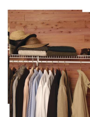 Aromatic Red Cedar Closet Liner Plank 15 Sq Ft Pkg