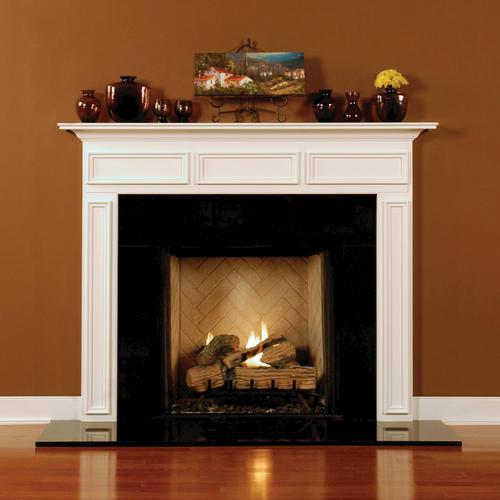 "MantelCraft Chambersburg 48""x42"" Walnut Natural Fireplace Mantel"