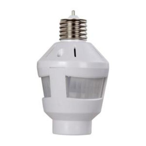 westek white indoor 360 degree motion sensor light socket at menards