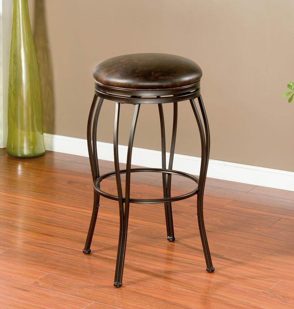 American Heritage Barstool® Romano Dual Height Swivel Bar Stool at ...