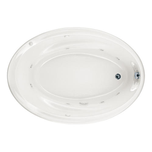 American Standard Savona Everclean 174 60 Quot X 42 Quot White Oval 8