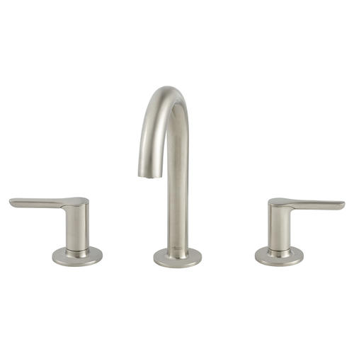 "American Standard Studio S Two-Handle 8"" Widespread Bathroom Faucet in Brushed Nickel"