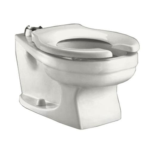 American Standard Baby Devoro Flowise Round Front Toilet