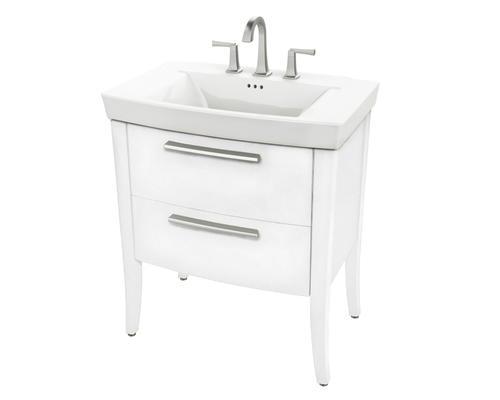 "American Standard Townsend 30""W x 19.5""D White Bathroom ..."