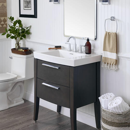 Smoked Grey Bathroom