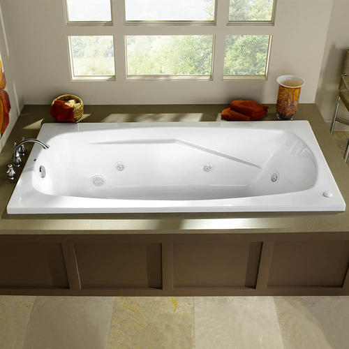 whirlpool tub.  Eljer Cascada Acrylic Whirlpool at Menards