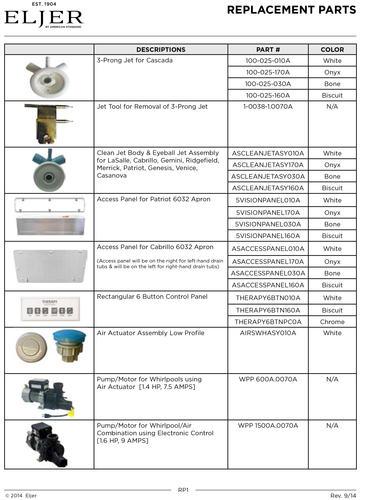 Eljer LaSalle XL Acrylic Whirlpool at Menards®