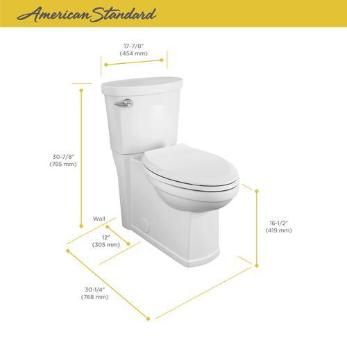 Prime American Standard Encompass 2 Piece Tall Elongated White Evergreenethics Interior Chair Design Evergreenethicsorg