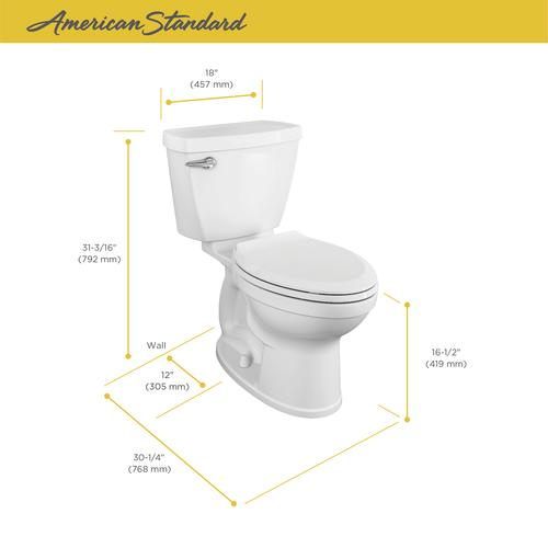 Fabulous American Standard Titan 2 Piece Tall Elongated Toilet At Machost Co Dining Chair Design Ideas Machostcouk