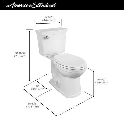 Peachy American Standard Astute Vormax 2 Piece Tall Elongated Beatyapartments Chair Design Images Beatyapartmentscom