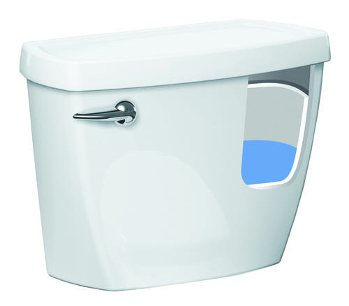 American Standard Titan Lined Toilet Tank In White Toilet Tank Only At Menards