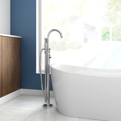 American Standard 174 One Handle Freestanding Tub Faucet With