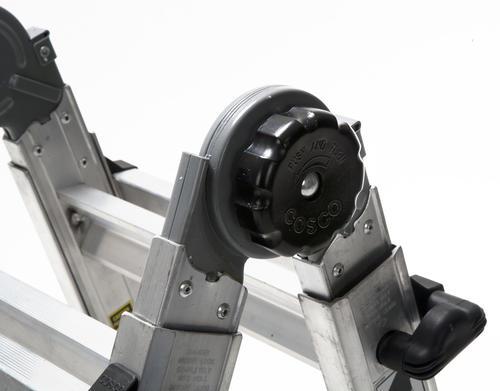 Cosco 13 Type 1a Aluminum 5 In 1 Multi Position Ladder 300 Lb Max At Menards