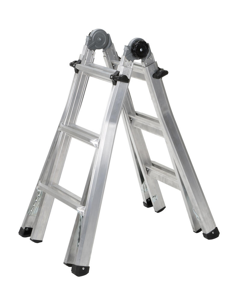 Cosco 13 Type 1a Aluminum 5 In 1 Multi Position Ladder 300 Lb Max At Menards