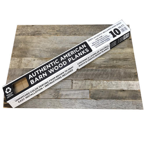 Authentic American Barn Wood Planks - 10 sq  ft  at Menards®