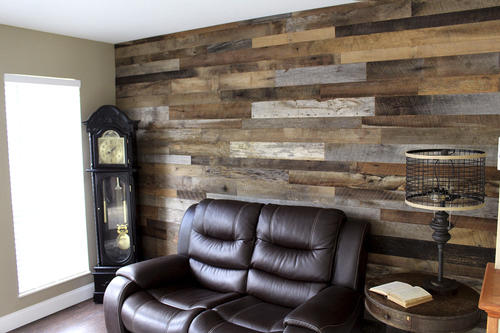 Authentic American Barn Wood Planks   10 Sq. Ft.