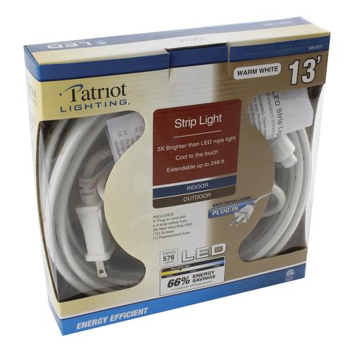 Patriot Lighting® LED Plug -In 13' Rope Light at Menards®
