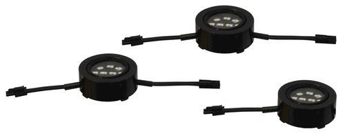 Patriot Lighting® 120-Volt Black LED Puck Lights - 3 pk at Menards®