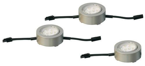 Patriot Lighting® 120-Volt Nickel LED Puck Lights - 3 pk at Menards®