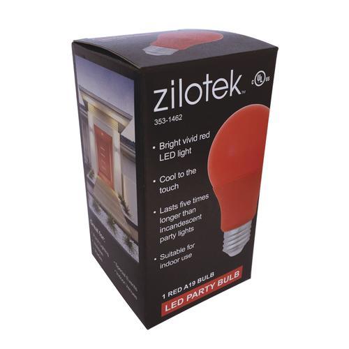 Zilotek 174 40w Equivalent A19 Led Party Bulb At Menards 174