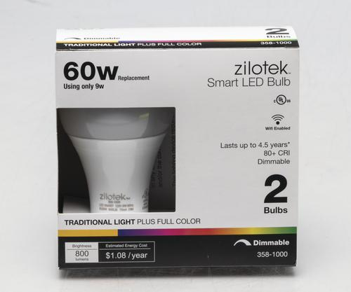 Zilotek 60w Equivalent Color Selectable Dimmable Led