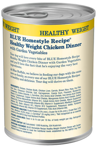 Blue Homestyle Recipe All Breed Healthy Weight Chicken