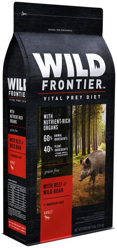 Wild Frontier™ by Nutro™ with Beef & Wild Boar Grain-Free