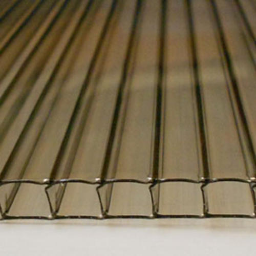 6mm x 24 inches x 36 inches Online Metal Supply Aluminum Composite Corrugated Sheet White 0.236