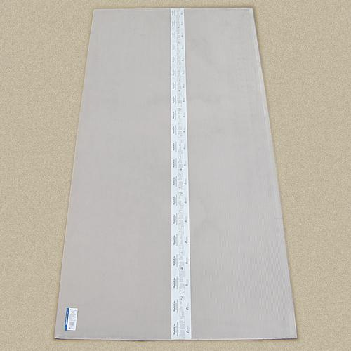 AmeriLux 4' x 8' Clear Polycarbonate Twinwall Panel (6 mm
