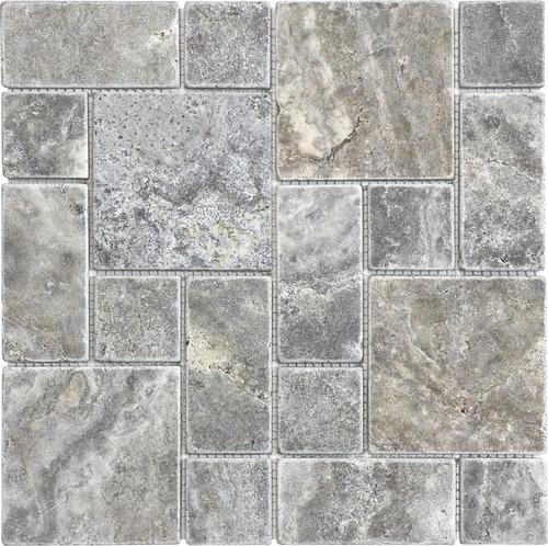 Roman Pattern 12 X Stone Mosaic Tile