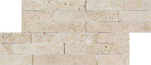 Ellis + Fisher Avorio Travertine Split Face 6 x 12 Stone
