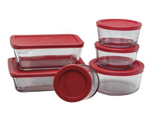 4a9bceefcc Anchor Hocking® Glass Kitchen Storage Set - 12 Piece at Menards®