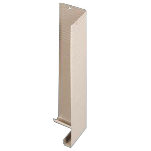 12 Woodgrain Aluminum Outside Siding Corner 10 Pack At Menards