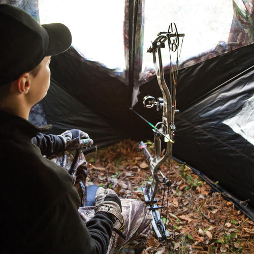 Barronett Blinds Big Mike Hub Style Ground Blind At Menards 174