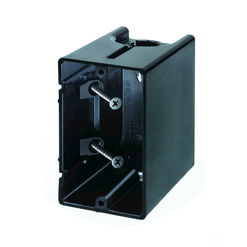 One Box Single Gang Non Metallic Outlet Box At Menards