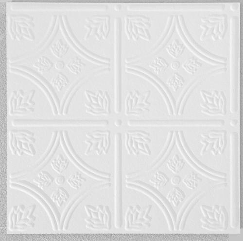 Armstrong Tinlook 12 X 12 White Tongue Groove Ceiling Tile At Menards