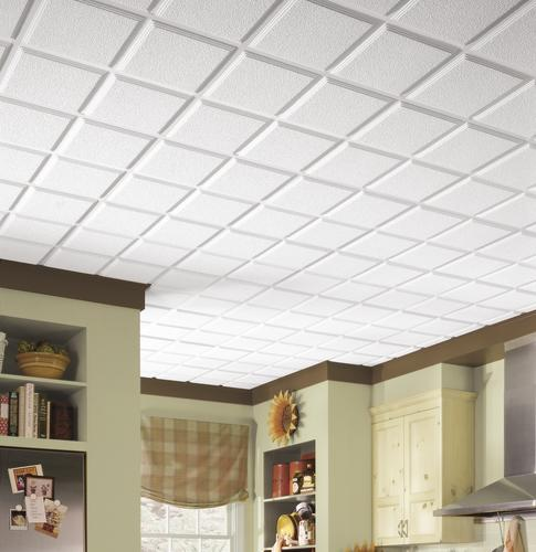 Armstrong Cascade 2 X 2 White Tegular Drop Ceiling Tile At Menards