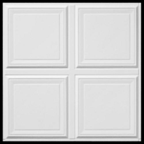 Raised Panel Flush Tegular Drop Ceiling Tile Model Number 8011 Menards Sku 5172304