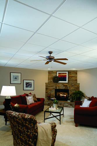 Armstrong Ultima 2 X 2 Beveled Tegular Drop Ceiling Tile