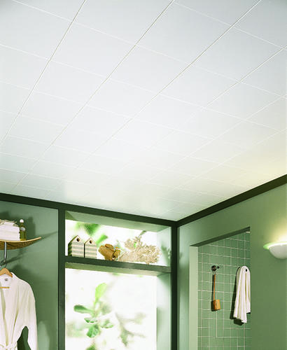 Armstrong 12 X Plain White Beveled Tongue Groove Ceiling Tile At Menards