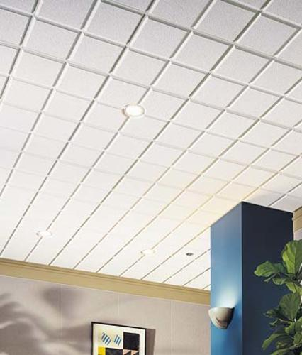Armstrong 174 Cirrus 2 X 2 Chamfered Tegular Drop Ceiling