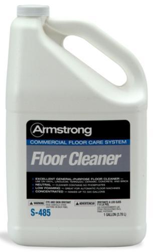 S 485 Commercial Vinyl Floor Cleaner